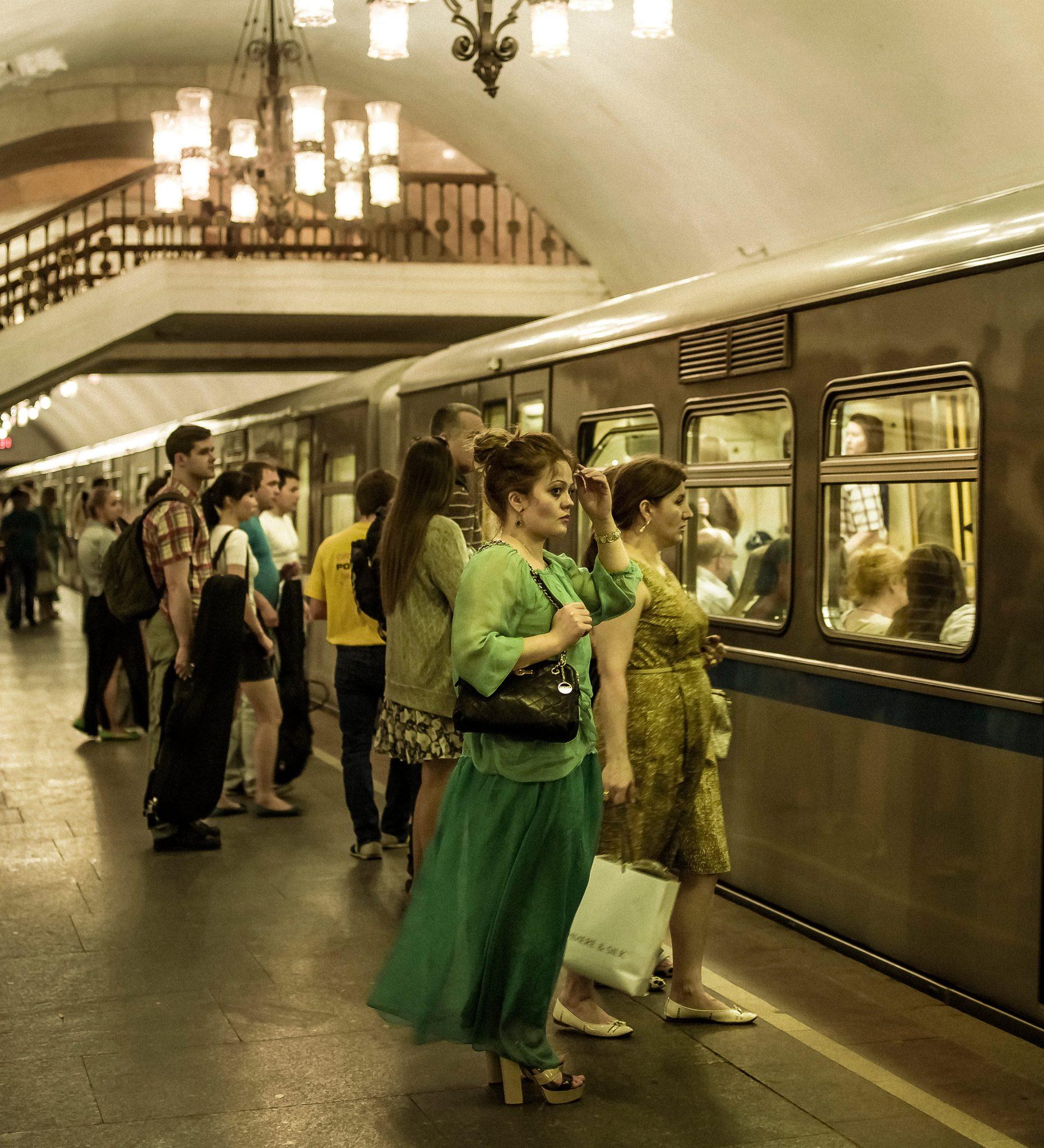 Underground in Moscow