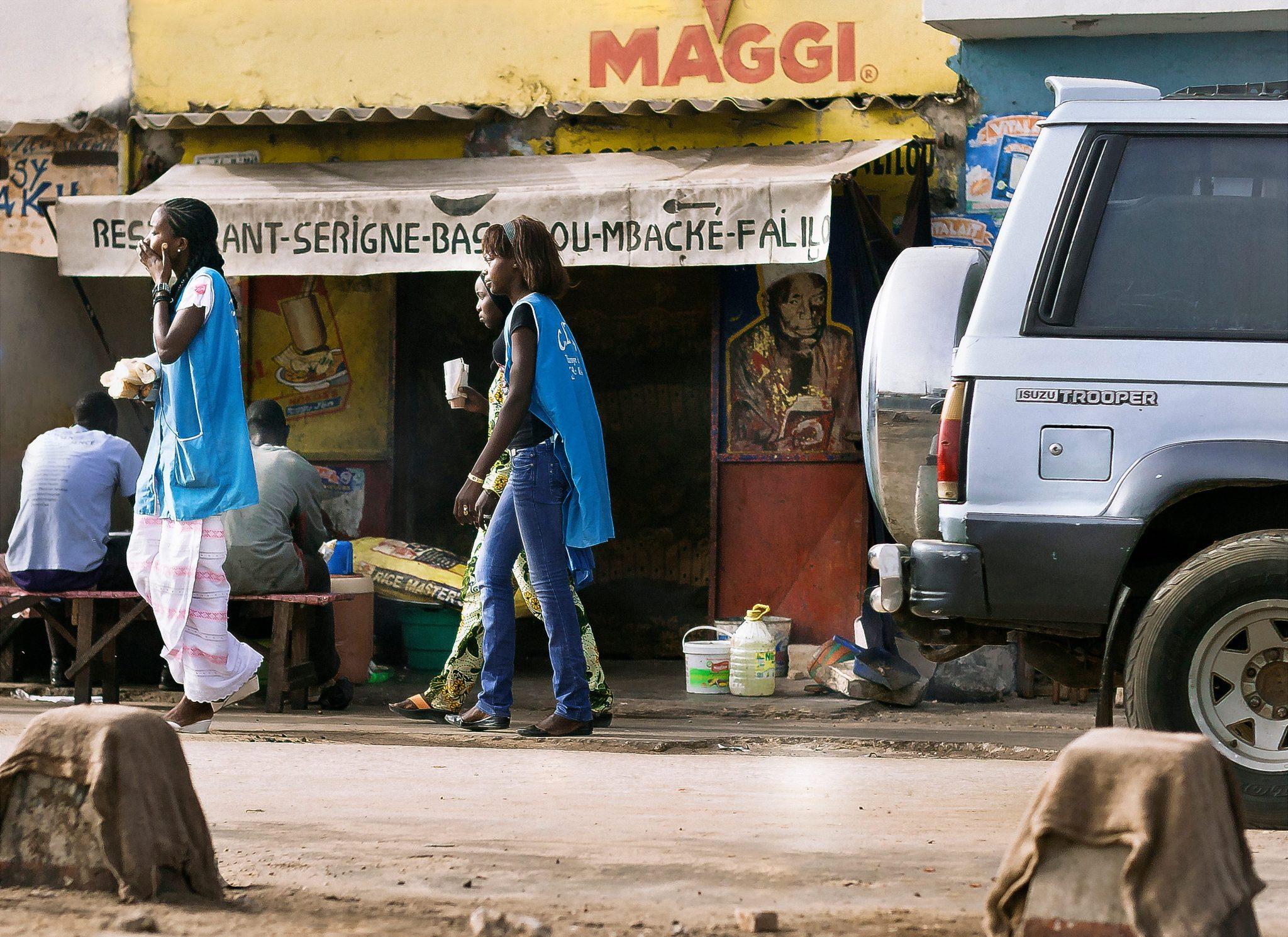 Roadside Eatery, Raphael, Senegal