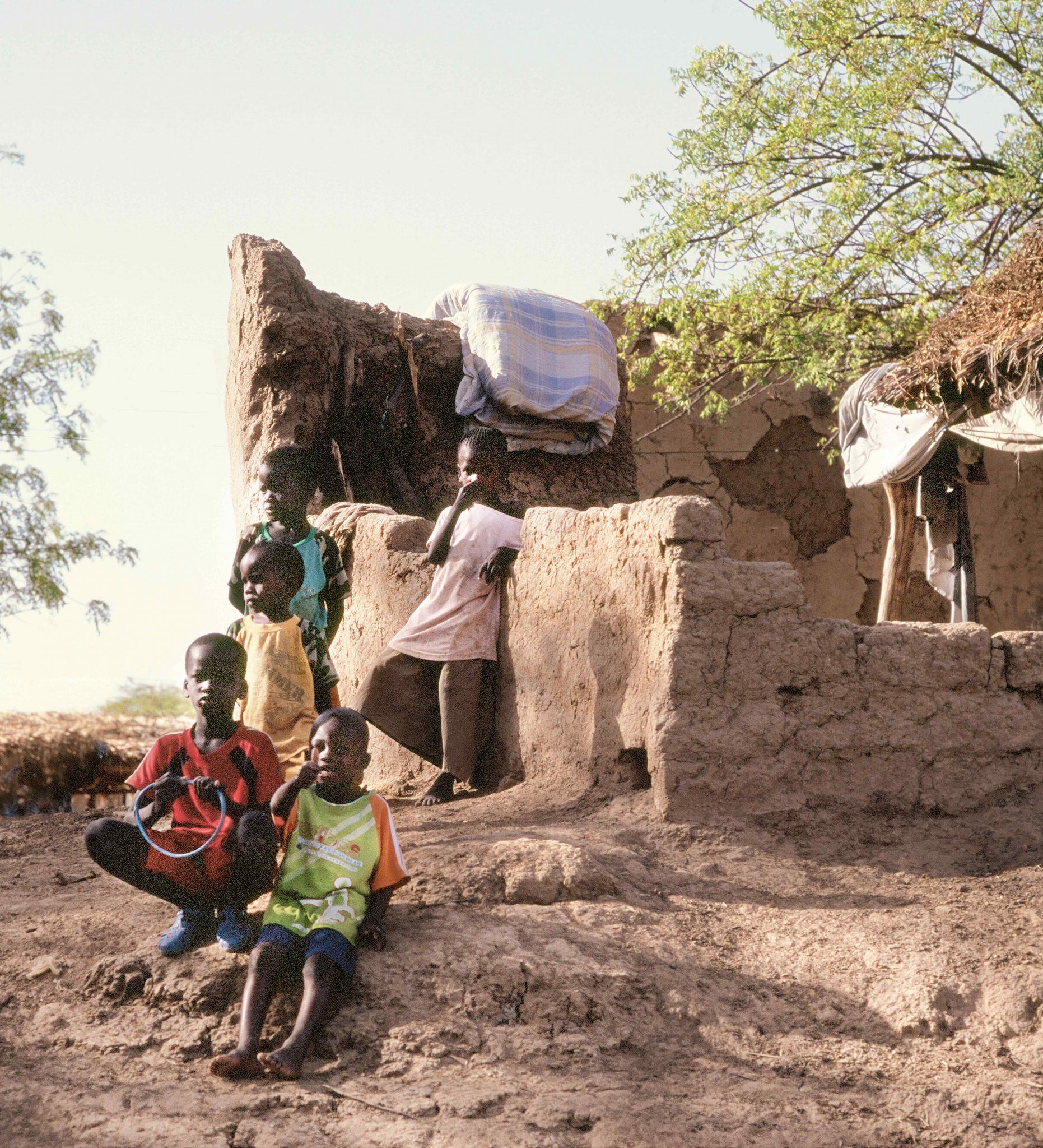 Five Children, Raphael, Senegal