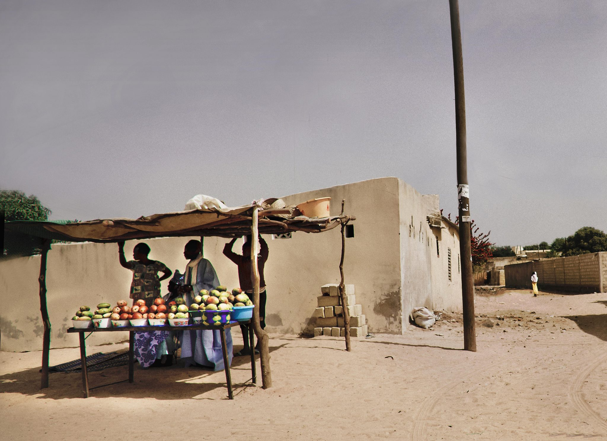 Fruit Stand, Raphael, Senegal