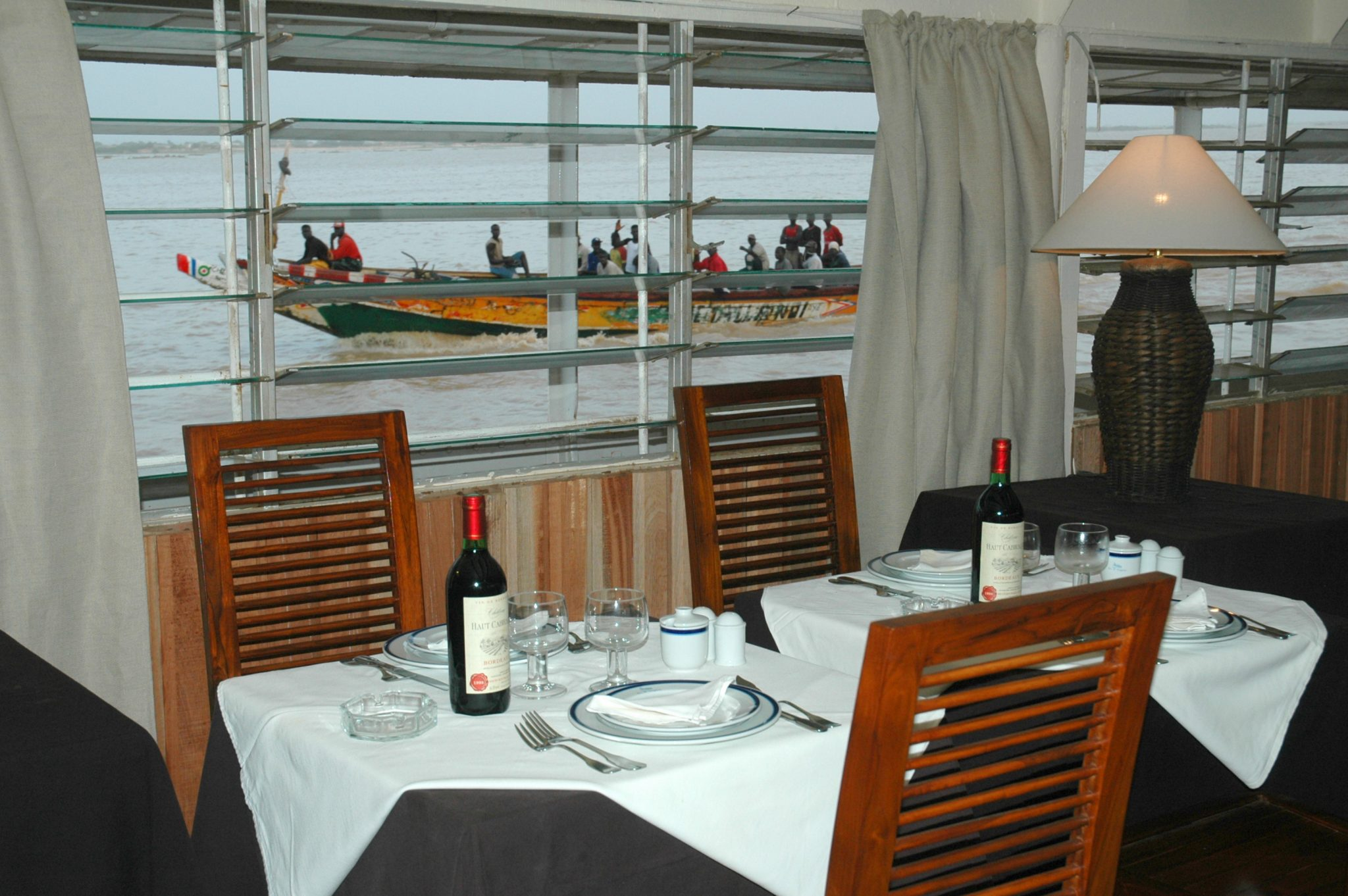 Dining Room, the White Boat Called Bou el Mogdad