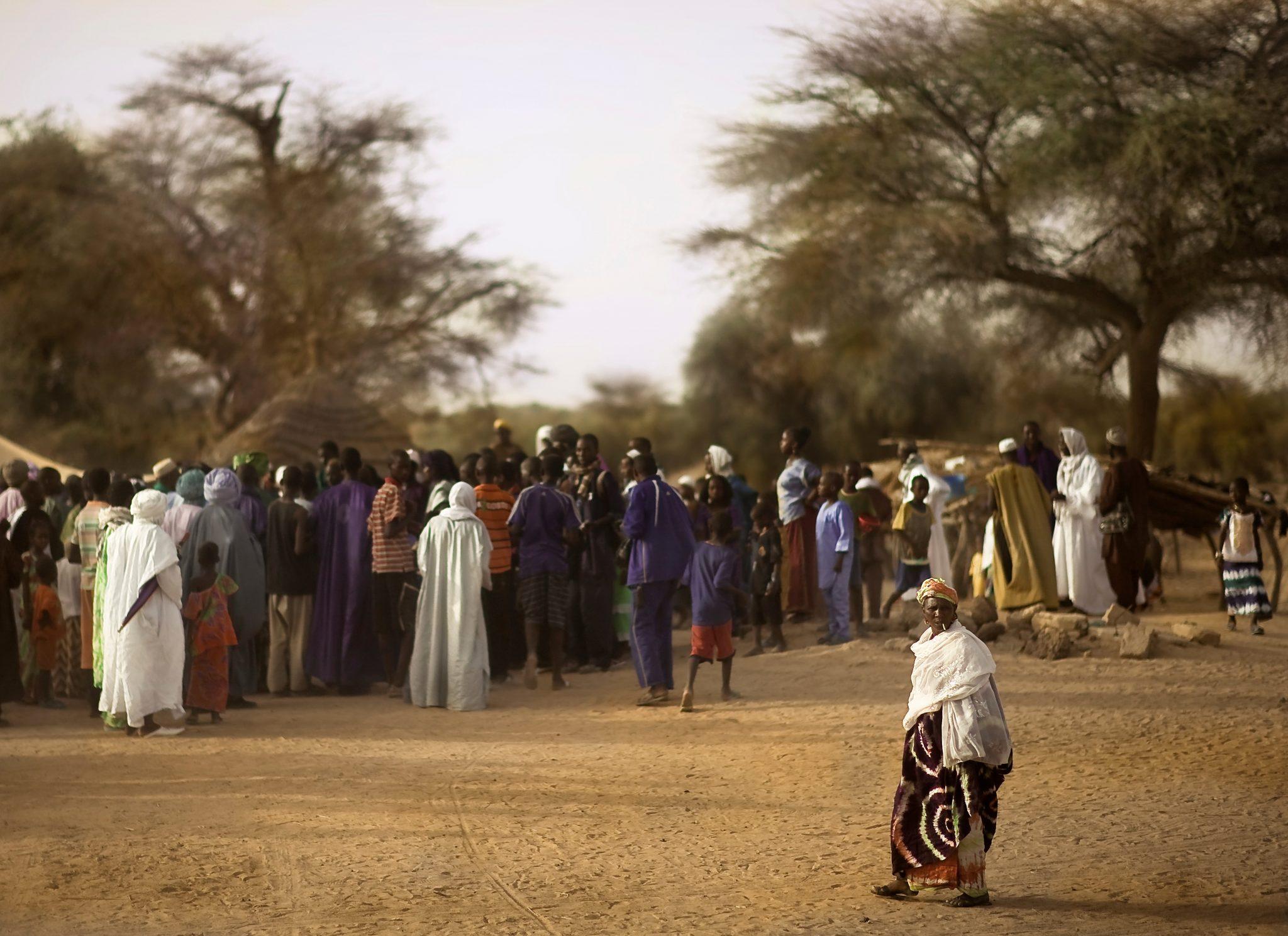 Meeting, Countryside, Senegal