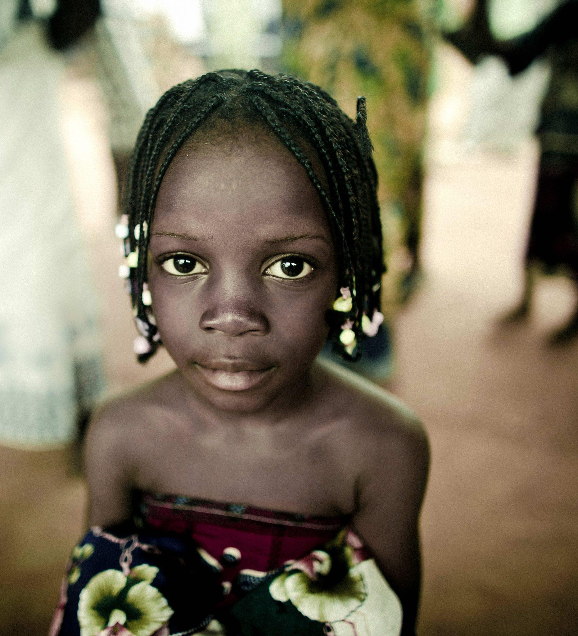Girl in Benin